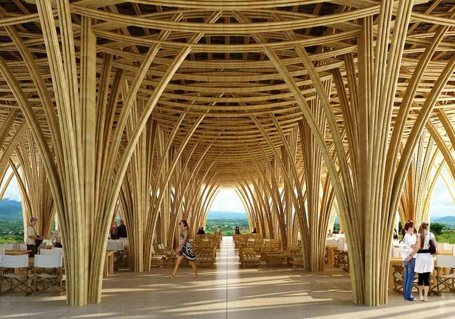 El bamb como material de construcci n portal ondac for Tanatorio los jardines carrizo
