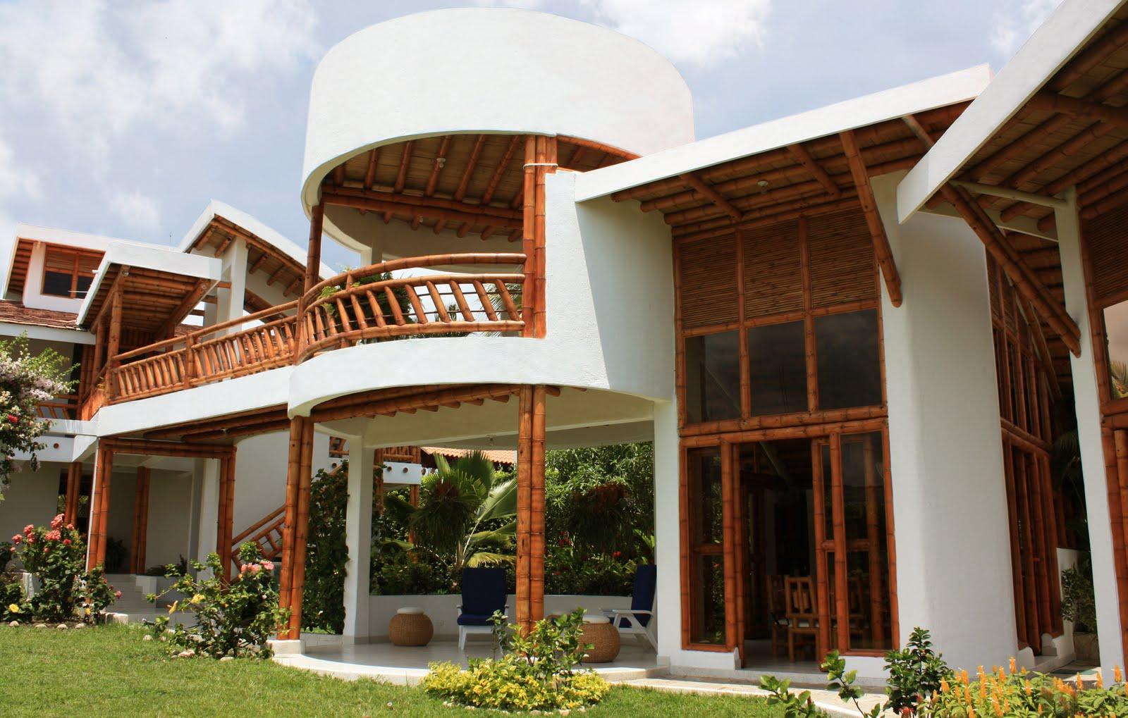 El bamb como material de construcci n portal ondac for Cubiertas para casas campestres